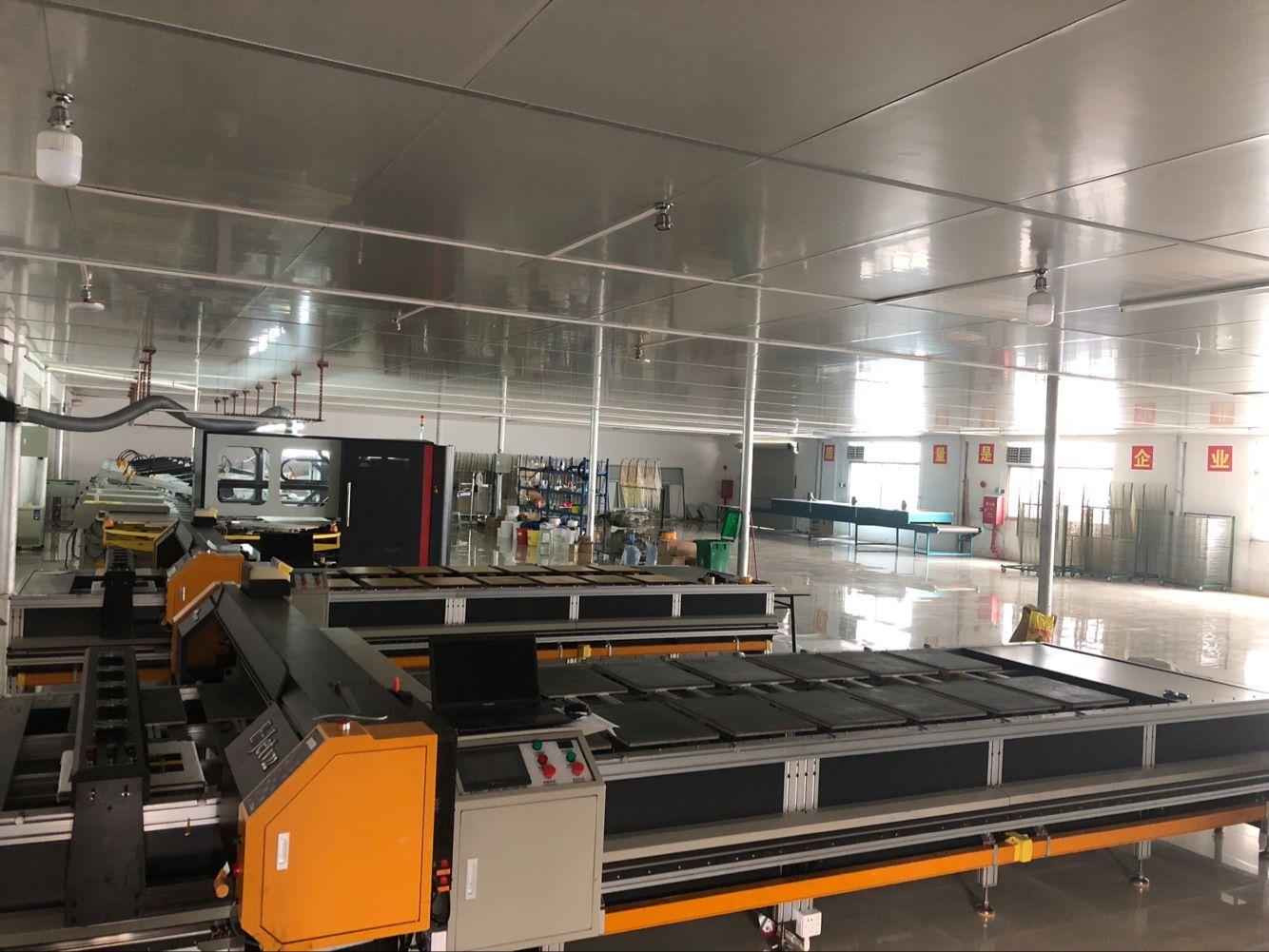 标准化生产车间 机器设备 自动化