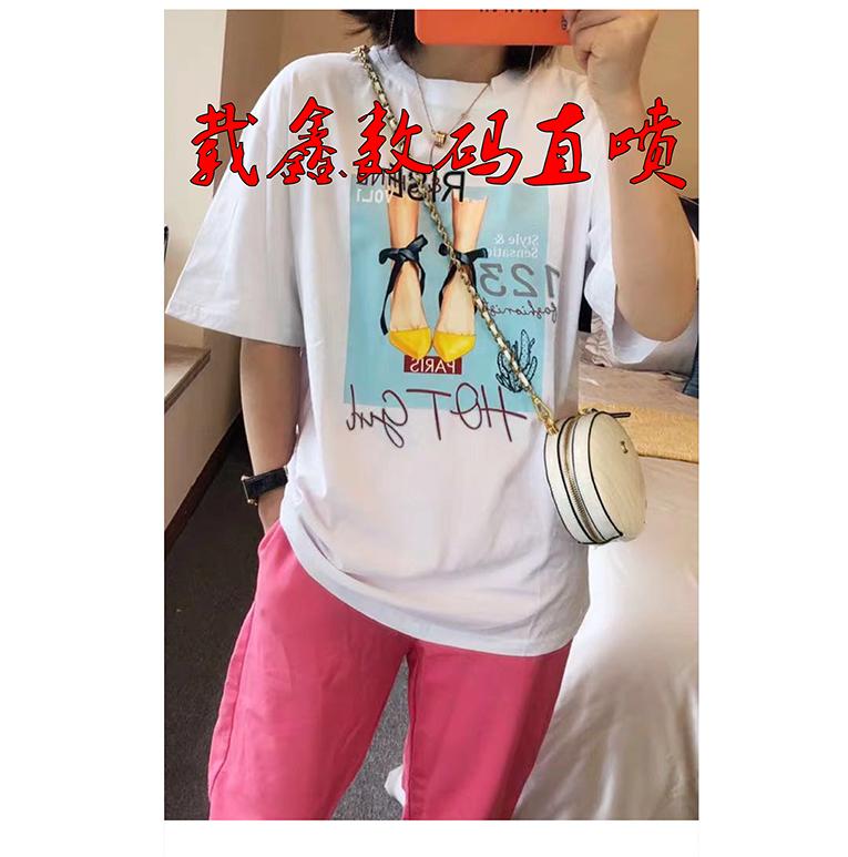 广州椭圆机服装直喷印花新款